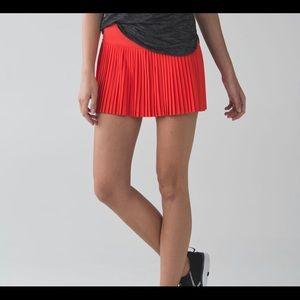 Adorable lululemon Pleat to Street skirt